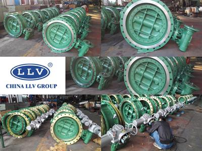 Export of Triple offset Butterfly Valve