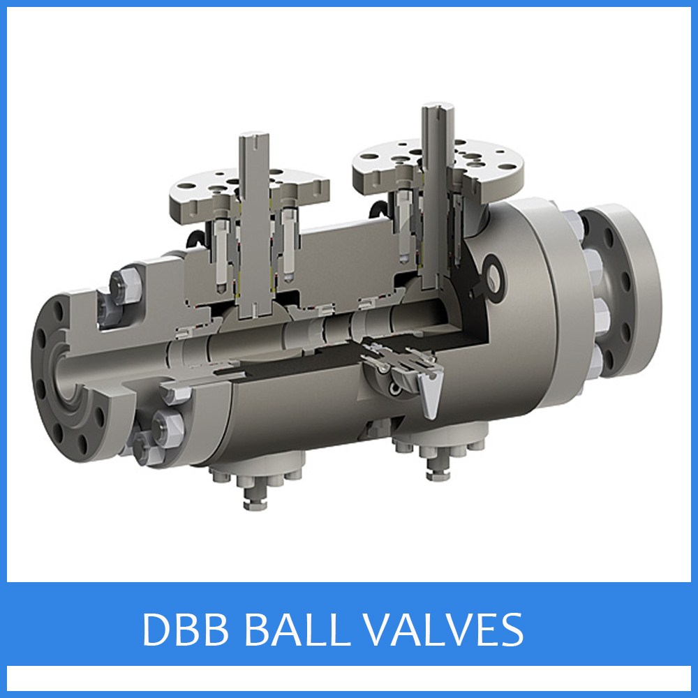 Double Block and Bleed Ball Valves