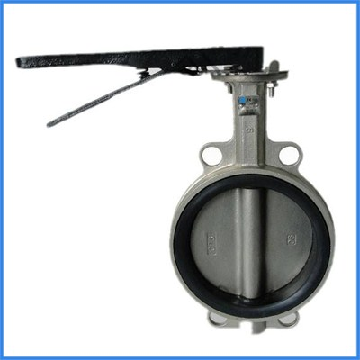 Centre-pivoted Butterfly Valve